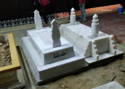 Pemasangan Makam di Raja Langgar 3