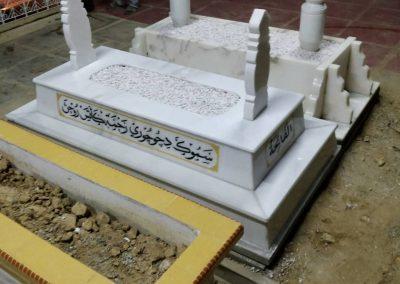 Pemasangan Makam di Raja Langgar 4