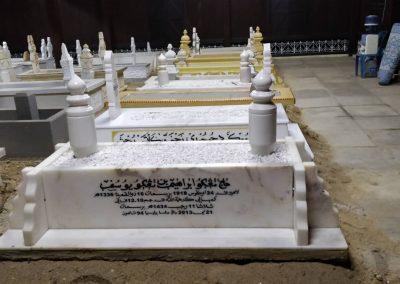 Pemasangan Makam di Raja Langgar 5