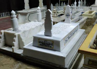 Pemasangan Makam di Raja Langgar 6